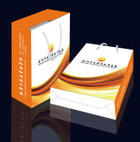 Bolsos del regalo del papel de arte de la alta calidad, del fabricante de papel profesional de la impresión del embalaje