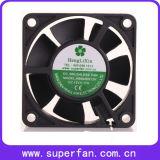 Ventilador de refrigeração grande 6020 da C.C. de Shenzhen do fluxo de ar