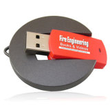 Fabricante da forma circular do excitador da pena do disco instantâneo do USB da torção 2GB