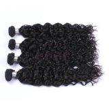 L'afro Deep Curly brésilien de cheveux humains Bundles Virgin Remy