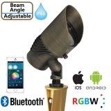 景色の照明BluetoothのETL IP65の多機能の真鍮の庭ライト