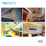 Панель стены волокна полиэфира Eco содружественная декоративная акустическая/панель потолка
