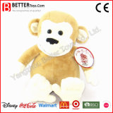 귀여운 승진 선물 연약한 박제 동물 견면 벨벳 원숭이 장난감