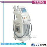 E-Licht IPL HF-Nd YAG Laser 4 in 1 Multifunktionsschönheits-Maschine