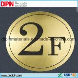 strato nero dorato di colore del doppio dell'ABS spazzolato doppio metallo del laser di 1200mm