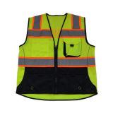 Utilização do tráfego rodoviário Safety Car colete reflector de Emergência