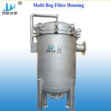 Boîtier multi en acier élevé de filtre à manches de Staninless de débit