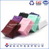 2016 Impreso personalizado de compras de alta calidad bolsa de papel, bolsa de prendas de vestir