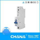 Ek 시리즈 전자 유형 RCBO Ekl2-40 1p+N 6-40A