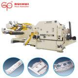 Alimentador automático de hojas de la bobina con plancha para la prensa de la máquina y sistema de manejo de la bobina