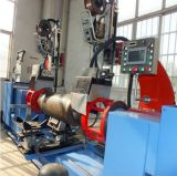 Machine de soudure tangentielle automatique de Double-Tête de cylindre de LPG