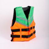 giubbotto di salvataggio di nylon di Popupar della maglia di tempo di impiego dell'OEM del giubbotto di salvataggio 2-Buckle