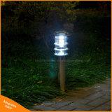 Luz solar al aire libre del césped del jardín de la lámpara del paisaje del acero inoxidable LED