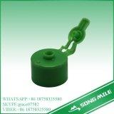 24mm pp. grüner heißer Verkaufs-Plastikschutzkappe für Shampoo-Flasche