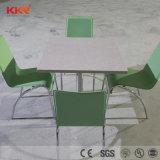Piedra artificial personalizar las tablas de restaurante y cafetería