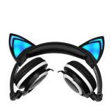 白熱猫耳OEMのかわいいFoldableヘッドホーン