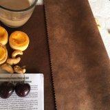 Polyester-Veloursleder-Leder für Sofa-Deckel
