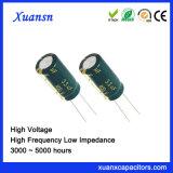 De lage Condensator Elektrolytische 400V 3.3UF 8X12mm van de Impedantie