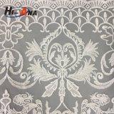 Una tela blanca más barata del cordón de la cuerda de la insignia por encargo de la impresión