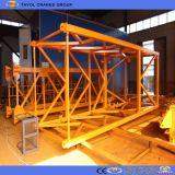 4ton Miniselbst der Eingabe-Qtz40 (4808), der Turmkran aufrichtet