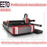 tagliatrice del laser della fibra 1000W per il taglio del tubo di Sheet&Pipe del metallo