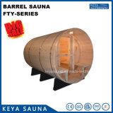 Sauna al aire libre del barril de la sauna al por mayor Niza en el precio de fábrica