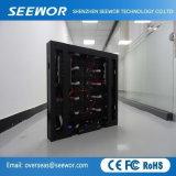 La haute définition SMD3528 P7.62mm Affichage LED fixe à l'intérieur avec armoire compacte
