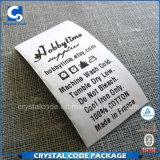 O algodão de vestuário tecido venda por atacado etiqueta etiquetas