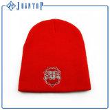 Sombrero de encargo de la gorrita tejida con la bola superior con su diseño