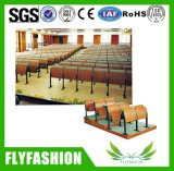 Mobília dobrada universidade da sala de aula da cadeira da escola da escada