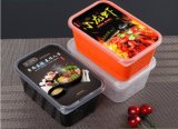 Caratteristica del contenitore di alimento di Microwavable e singolo contenitore di alimento immagazzinato a gettare dello scompartimento della caratteristica