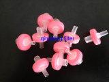 Le filtre hydrophobe de seringue de PTFE 13mm pour le laboratoire assure la filtration