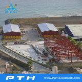 Gran estructura de acero prefabricados Span para almacén