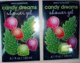Le modèle fait sur commande d'étiquette de Noël pour le produit de beauté cogne le plastique, marque de distributeur composent