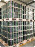 Precio de fábrica ETL Cable coaxial RG6 con un 60% de cobertura para CATV (Quad Shield)