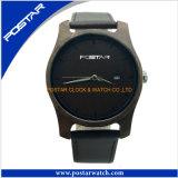 Hete In het groot OEM van het Horloge van de Verkoop Klassieke Houten past het Horloge van de Armband van de Horloges van Mensen aan