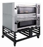 Коммерчески печь выпечки палубы печений Cak хлеба, каменная печь выпечки, печь выпечки пара