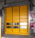 Дверь быстрого PVC заключение и отверстия быстроподвижная штабелируя
