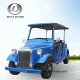 8 Seater 전기 연료 로드스터 고전적인 밴 골프 카트