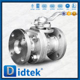 Valvola a sfera di galleggiamento dell'acciaio inossidabile di Didtek JIS 5K