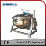 高圧蒸気調理のやかんを傾けること