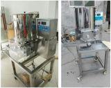 中国製機械を形作る機械ビーフのチキン・ナゲットを形作るハンバーガー肉パティー