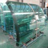 Vetro di vetro degli apparecchi & del cappuccio dell'intervallo & vetro Tempered curvo & En12150 & RoHS approvati