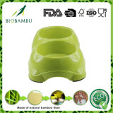 Aliment pour animaux familiers en bambou sain de fibre/cuvette potable (YK-P6004)