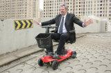 Le scooter électrique de mobilité de vieil de produit entraînement extérieur d'alimentation par batterie avec le choc absorbent le ressort