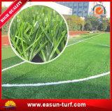 Трава земли футбола искусственная для дерновины футбольного поля