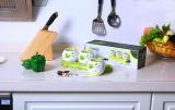 Ensemble de condiments en porcelaine de cuisine Metka Set 3 Pot