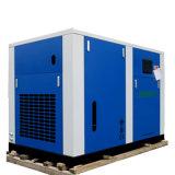 Compresseur d'air exempt d'huile de vis d'air pur de 100% pour la respiration