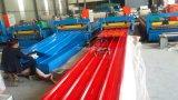 Azulejo de azotea acanalado prepintado moho anti del metal del material para techos de acero revestido del cinc