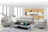 Горячие продажи популярных ожидания диван Office кожаный диван 1+1+3 (BL-9913)